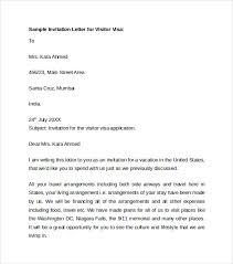 Wedding Invitation Letter For Us Visitor Visa sle invitation visa letter cogimbo bunch ideas of invitation