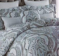 Gray Paisley Duvet Cover California King Duvet Cover Sydney 7pcs Textured Puckered Pleat