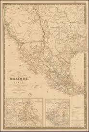 State Maps For Sale by Nouvelle Carte Du Mexique Du Texas Et D U0027une Partie Des Etats