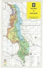 Malawi Map Sitemap