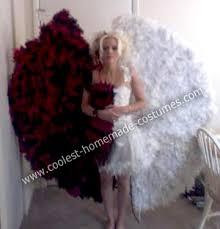 Devil Angel Halloween Costumes Coolest Homemade Devil Angel Costume Devil Costumes