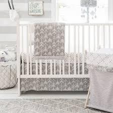 Grey Nursery Bedding Set Modern Crib Bedding Allmodern