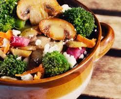 cuisine automne salade d automne aux chignons sautés recette de salade d