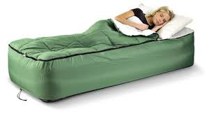 amazon com guide gear twin air bed fitted cover sleeping bag