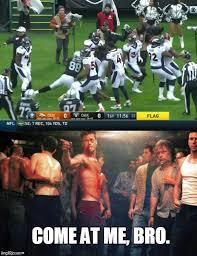 Broncos Raiders Meme - turf wars imgflip