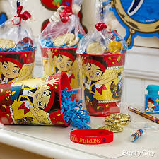 favor cups jake and the neverland favor cup idea party city