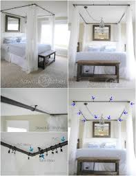 sleep in absolute luxury with these 23 gorgeous diy bed canopy