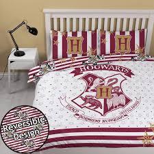 harry potter duvet quilt cover bedding set single double blanket