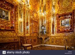 chambre ambre chambre d ambre du palais de catherine pétersbourg russie