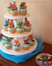 Tropical Theme Birthday Cake - coolest ocean cake ideas and photos