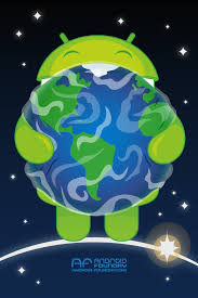 earth for android wallpaper earth day android foundry