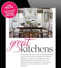Traditional Home Great Kitchens - nest by tamara a design inspired collaborative spring season