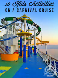 kids activities on a carnival cruise