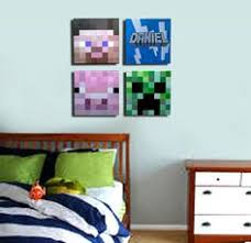 minecraft inspired wall art 8