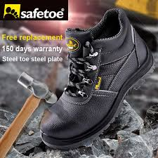 Light Work Boots Aliexpress Com Buy Safetoe Brand Safety Boots Shoes Work Boots