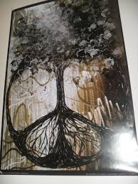 peace sign tree poster decorate your redditgifts