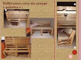 canap en palette en bois canap en palette avec dossier canap palette fauteuil en palette