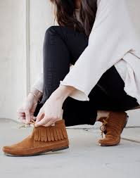 womens fringe boots target best 25 moccasin ankle boots ideas on moccasins