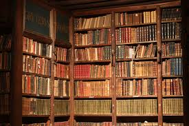 file bookshelves hendrik conscience heritage library antwerp