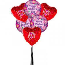 mylar balloon bouquet s day assorted 6 mylar balloon bouquet in universal city