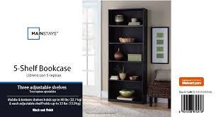 great walmart 5 shelf bookcase white 29 with additional markor