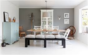 classical scandinavian style interior designs in dinning room