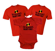 disney family incredibles vacation family t shirts the official