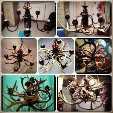 Diy Antler Chandelier Best 25 Deer Antler Chandelier Ideas On Pinterest Antler