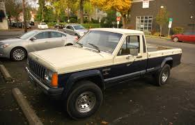 jeep pickup comanche old parked cars 1986 jeep comanche x