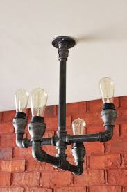 Ceiling Lights For Dining Room by 25 Best Pipe Lighting Ideas On Pinterest Industrial Wall Art