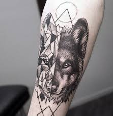 40 wolf forearm tattoo designs for men masculine ink ideas