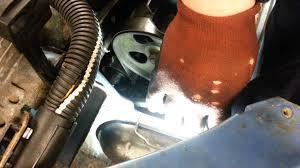 how to change replace auxiliary belt fan belt drive belt peugeot