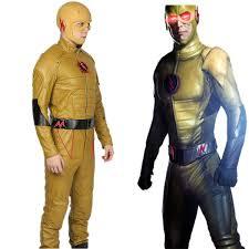 Dishonored Halloween Costume Reverse Flash Pu Costume Flash Cosplay U2013 Xcoser Costume