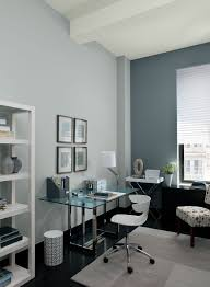 blue home office ideas serene and streamlined blue office