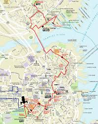 Boston Commons Map by On The Go Day 12 Boston