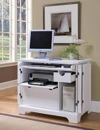 Sauder Harbor View Computer Desk With Hutch Antiqued Paint Sauder Harbor View Computer Desk With Hutch Antiqued White Within