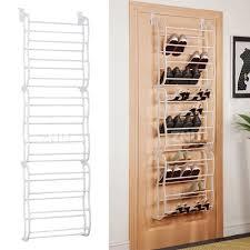 hanging shoe rack over the door 36 pair closet space saver