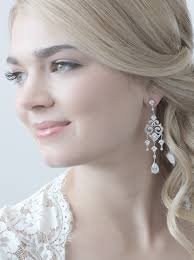 bridal chandelier earrings cz wedding chandelier earrings staff favorite from usa