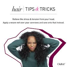 the best way to sew a hair weave weave hair 101 how to use a weave net outretalks