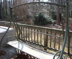 Metal Porch Gliders Yardsalequeen Com Yard Sale Garage Sale Blog My Diy Repurposed