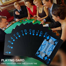 amazon com plastic playing cards pumpumly 2 decks waterproof pvc