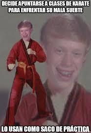 Karate Memes - cu磧nto cabr祿n karate brian