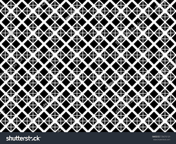 square diagonal pattern vector isolated trellis stock vector