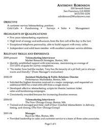 Objective For Resume Sample by Sample Resume For Psychology Graduate Http Jobresumesample Com
