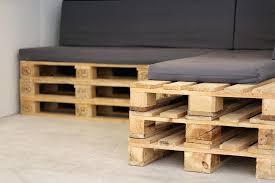 canapé en palette avec dossier canape avec palette decofr canape dangle en palette avec dossier