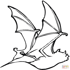 Bat Template Halloween by Bat 18 Coloring Page Free Printable Coloring Pages