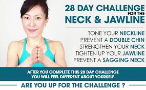 Challenge Neck 28 Day Challenge For The Neck And Jawline Method