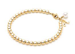 gold beads bracelet images 4mm tiny blessings beads teen 39 s beaded bracelet 14k gold jpg