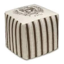 animal print cube ottoman wayfair