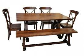 Weathered Wood Dining Table Arvada Weathered Wood Solid Oak Dining Table Available In Oak